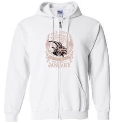 nice All men are created equal but only the best are born in January Unisex zip hoodie