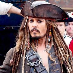 Johnny Depp Fans, Young Johnny Depp, Cry Baby Movie, Elizabeth Swann, Captain Jack Sparrow, Lily Rose Depp, Hollywood Star, Will Turner, Pirates Of The Caribbean