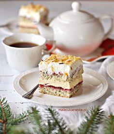 Kliknij, by zamknąć Sweet Recipes, Cake Recipes, Dessert Recipes, Good Food, Yummy Food, Mousse, Fashion Cakes, Brownie Cake, Polish Recipes