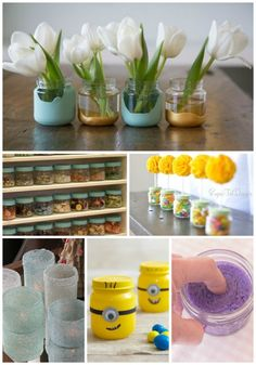 22 Clever Uses For Baby Food Jars | Use those baby food jars for a variety of different DIY projects.