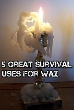 5 Great Survival Uses For Wax - SHTF Preparedness