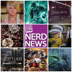 In today's Nerd News, we amp up for the big Gotham series premiere and cross our fingers for a rumored DC Comics film franchise. Plus, a first look at Final Fantasy XV, a cryptic photo from the set of Jurassic World and a famous actor who was ALMOST the voice of Roger Rabbit. CLICK the photo to read all about it.