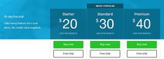 We recently had a major overhaul of ourpricingandlanding pageand wanted to get a good idea of what a high-converting pricing page looked like. We turne