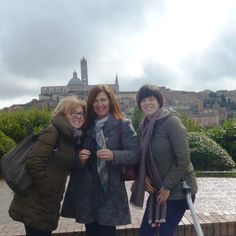 Moments from tour in Siena and San Gimignano!