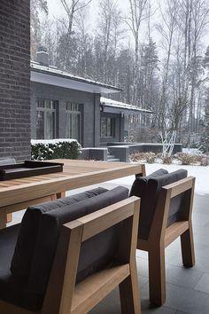 Великолепный дом в Подмосковье от мастерской Нины Прудниковой | Пуфик - блог о дизайне интерьера
