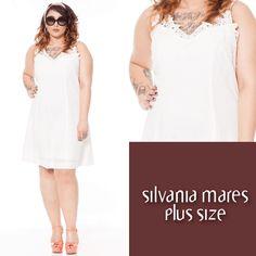 Vestido tecido leve plus size