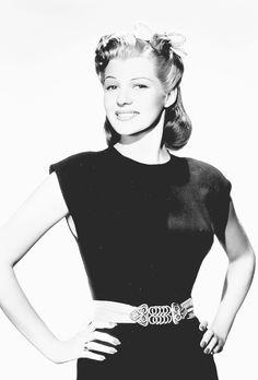 msmildred:Rita Hayworth, 1941.