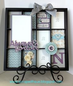 CTMH Display Tray Project using the Frosted Papers! (Design inspired by Lisa Stenz) Here is one of the project kits available to cre...