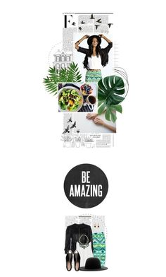 """Amazing."" by crystal85 ❤ liked on Polyvore featuring Boohoo, Nicki Minaj, Mangano, Topshop, Études, Miu Miu, Pieces and Noir Jewelry"
