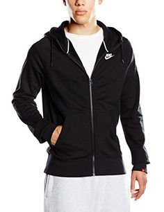 Nike Aw77 Intentional Sweat-shirt à capuche zippé manches longues Homme Midnight: Tweet – Material: 100% Baumwolle – Passform: bequeme…
