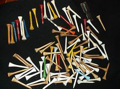 Vintage-Lot-of-Wooden-Golf-Tees-NBC-Sports-Bud-Light-Finesse-Tee-Puller