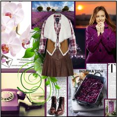 """purple"" by chareznasheer on Polyvore"