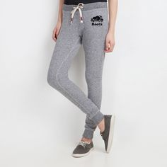 THIS. XS. Womens Skinny Cozy Sweatpant | Roots Sweatpants Head To Toe, Fashion Details, Cozy, Sweat Pants, Skinny, Goals, Closet, Women, Armoire
