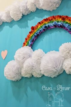 The Effective Pictures We Offer You About my ideas board A quality picture can tell you many things. Tissue Flowers, Flower Petals, Paper Flowers, Kids Crafts, Diy And Crafts, Paper Crafts, School Decorations, Birthday Decorations, Kids Church Rooms