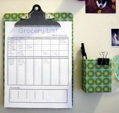 grocery-planner-menu