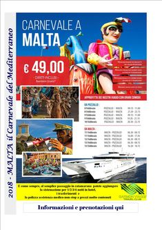 Carnevale 2018 a Malta – Garmon Viaggi Tour Operator
