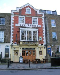 The Cricketer's Pub, Richmond Green, Richmond, London