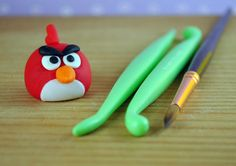 Bake Happy: How to Make the Angry Birds Cupcake Toppers