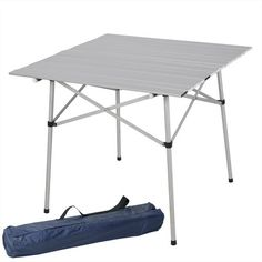 Camping accessories :Best Choice Products' Aluminum Roll Up Table Folding Camping Outdoor Indoor Picnic Table Heavy Duty >>> See this great image : Camping accessories Indoor Picnic, Backyard Picnic, Indoor Outdoor, Garden Picnic, Balcony Garden, Camping Furniture, Outdoor Furniture, Camping Table, Camping Ideas