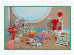 CANDY BAR  MODELO SAL. Mesa de dulces para bodas y celebraciones.