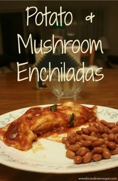 Potato Enchiladas| Being a former New Mexican, I never would have thought of using potatoes for Enchilada Filling, but I was so wrong!