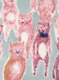 #mood #fashion #fox #surface #pattern