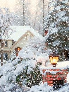 1360892.gif (240×320) Christmas Scenes, Noel Christmas, Country Christmas, Christmas Pictures, Winter Christmas, Vintage Christmas, Winter Images, Winter Pictures, Winter Schnee