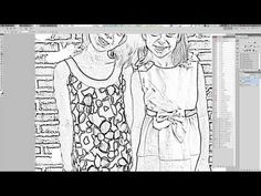 Photos To Coloring Pages DIY Photo Book Tutorial