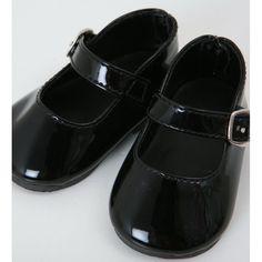 Black Patent School shoes