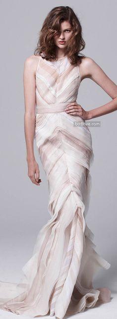 J.Mendel Resort 2014 #dress #fashion