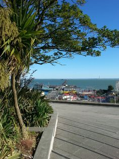 Southend pier from Pier Hill
