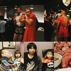 #トイカツ道場 グループ #ハロウィン #肉 祭り  美味しいお肉たっぷり、お酒も飲み放題! #BAR #レベッカ 行って来ましたよー(笑) 人生初のコスプレ(女装) 背中が、セクシーと 女性に好評でした。  ファイトフット新宿西口駅前の無料体験 受け付け中! #新宿 #渋谷 は、 #護身術 がレアで好評です!  #ボクシング #キックボクシング #格闘技 #ボクシング女子 #キックボクシング女子 #ダイエット #痩せる #美容 #健康 #痩せる  #ボディメイク #ストレッチ #無料体験 #boxing #kickboxing #gym #diet #beauty #training