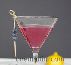 blueberry lemon drop