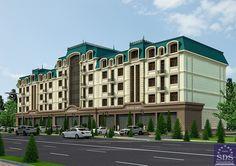 Проект 5-этажного дома, ул. Т.Шевченко, г. Ташкент от SDS Proekt