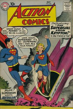 Action Comics #252, by Curt Swan.