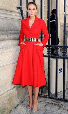 50 Best Dresses of 2012 | #4 Leelee Sobieski in Dior by Raf Simons