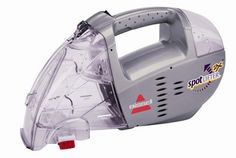 Bissell Cordless Spot Lifter 2x Handheld Portable Upholstery and Carpet Cleaner - Silver 1719, Purple