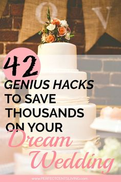 Creative Ways To Save Big On Your Dream Wedding Save money on your dream wedding using these 42 genius hacks.Save money on your dream wedding using these 42 genius hacks. Cheap Wedding Venues, Wedding Costs, Plan Your Wedding, Wedding Events, Destination Wedding, Free Wedding Stuff, Cheap Wedding Ideas, Wedding Locations, Creative Wedding Venues