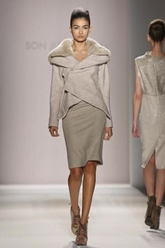 Son Jung Wan Fall Winter Ready To Wear 2013 New York