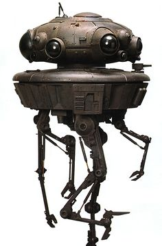 "The Viper probe droid, commonly referred to as the Imperial probe droid or Viper probot, was a probe droid used by the Galactic Empire for deep space exploration and reconnaissance. Appearances Star Wars: Galactic Defense, A New Dawn, Lost Stars (Indirect mention only), Star Wars Rebels – ""Call to Action"", Star Wars Rebels – ""The Lost Commanders"", Star Wars Rebels – ""Relics of the Old Republic"" (Mentioned only), The Adventures of Luke Skywalker, Jedi Knight, Star Wars: Darth Vader 8…"
