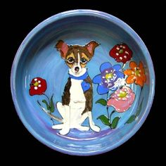 Client Order: Chihuahua Dog Bowl