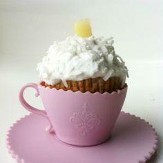 Pina Colada Cupcakes (Almond Flour)