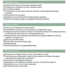 Checkliste Teil 3