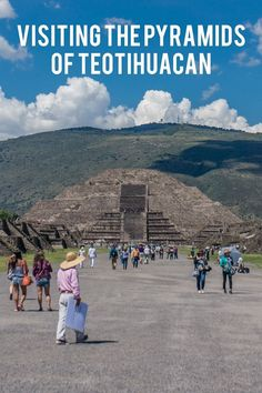 Just outside of Mexico City you will find the towering pyramids of Teotihuacan, an ancient ruin and incredible place to visit...
