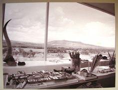 """Studio Of Georgia O'Keefe"" by Laura Gilpin 1960"