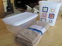 Bye, Bye, Paper towels!  something to consider