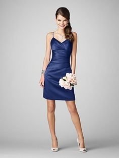 Alfred Angelo style 7199S in Navy bridesmaid