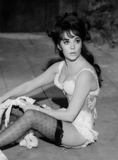 "Natalie Wood, in rehearsal on ""The Great Race"" 1964"