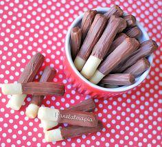 PANELATERAPIA - Blog de Culinária, Gastronomia e Receitas: Palitinhos de Chocolate