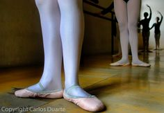 Students practice routines during classes in the National Academy of Ballet and Dance, in Guatemala City